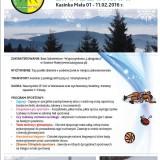 Do pobrania Karta Kwalifikacyjna Obozu Zima z zapasami w Kasince Małej oraz szczegoły wyjazdu!!!