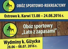 Do pobrania Karty Kwalifikacyjne na organizowane przez klub obozy letnie!!!