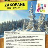 """Obóz sportowo-rekreacyjny  """"Zima z zapasami"""" !!"""